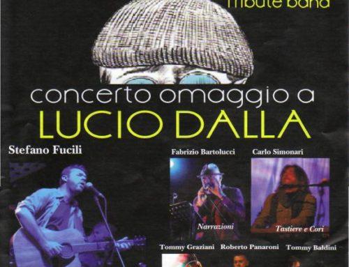 15 marzo 2018 Tributo a Lucio Dalla – Teatro Openjobmetis Varese